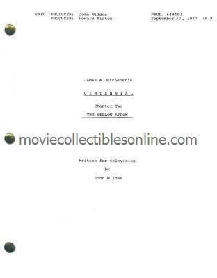 Centennial Script - The Yellow Apron