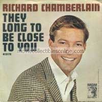 Richard Chamberlain - They Long To Be Close To You, Blue Guitar