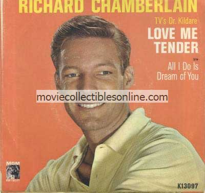 Richard Chamberlain - Love Me Tender, All I Do Is Dream of You