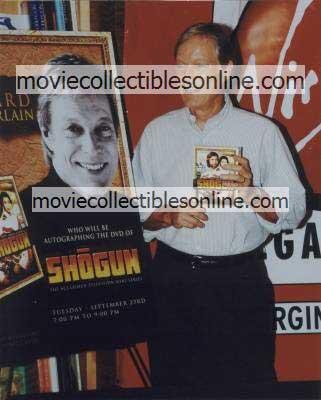 Richard Chamberlain Photo - Shogun DVD Release