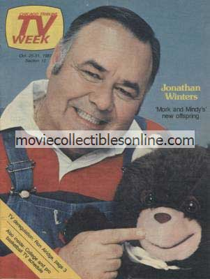10/25/1981 Chicago Tribune TV Week