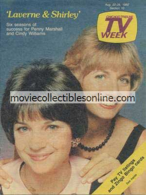 8/22/1982 Chicago Tribune TV Week