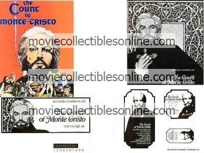 Count of Monte Cristo Press Kit Ad Slicks